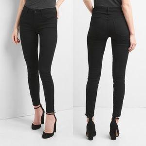 GAP Mid Rise True Skinny Jeans (Tall Length)
